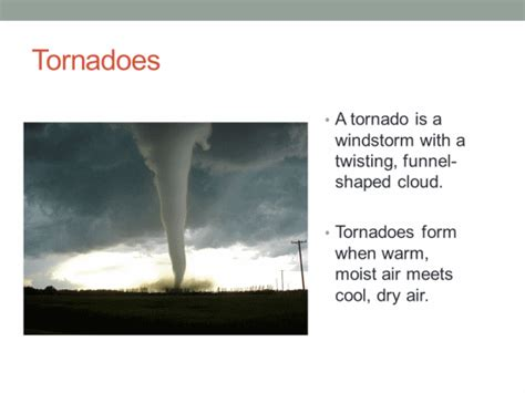 hurricanes  tornadoes   computer lab technology