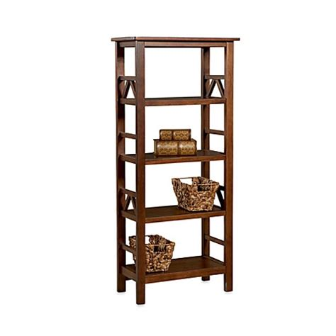 bed bath and beyond bookcase dylan 4 shelf bookcase bed bath beyond