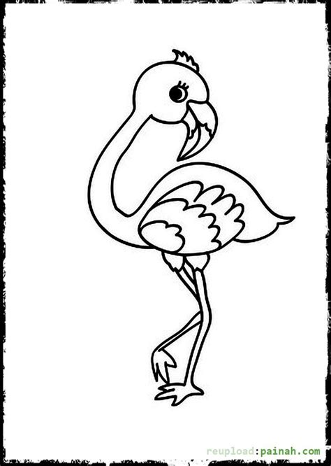 Coloring Pictures For by Baby Bird Flamingo Coloring Pages Coloring Pages