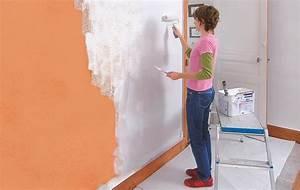 peindre sur du papier peint diy faites le vous meme With peindre le papier peint