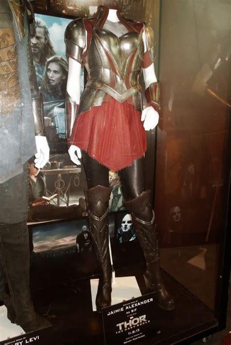 Jaimie Alexander Sif Battle Armor Costume Thor Dark World