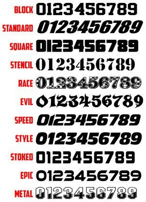 number jersey font recherche google number fonts number tattoo fonts lettering fonts