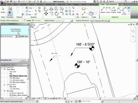 different floor plans advanced revit architecture 2012 tutorial spot elevation