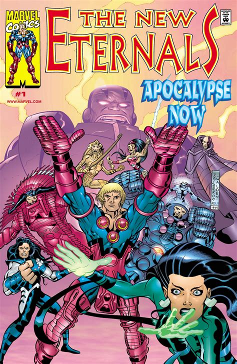 New Eternals: Apocalypse Now (2000) #1   Comic Issues   Marvel