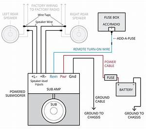 Bose Car Amplifier Wiring Diagram  With Images