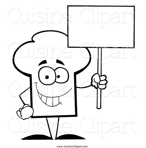 chapeau cuisine chef hat coloring pages pixshark com images