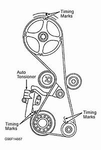1993 Mitsubishi Expo Serpentine Belt Routing And Timing Belt Diagrams