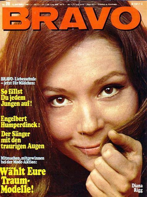 BRAVO magazine - July 1968 (cover) - Diana Rigg Fan Art ...