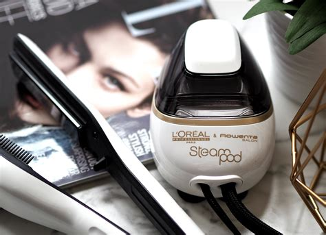 steam pot l oreal are steods the new ghds swapping heat for steam with the l oreal steod straightening tool