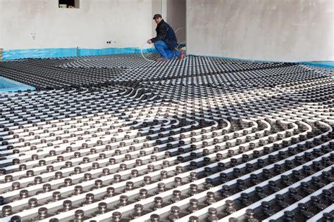 prix chauffage au sol types de syst 232 mes et leurs prix