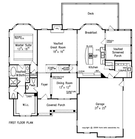 Frank Betz Summerlake Floor Plan by Springmill Home Plans And House Plans By Frank Betz