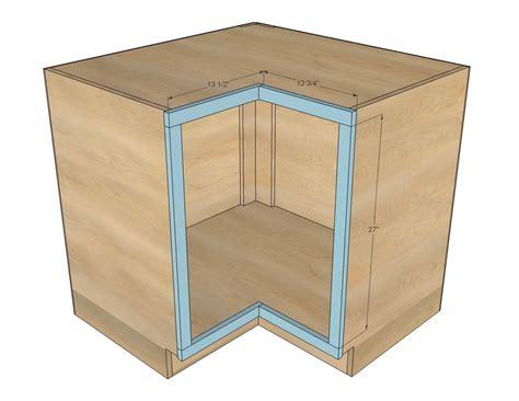 "Ana White  Easier 36"" Corner Base Kitchen Cabinet"