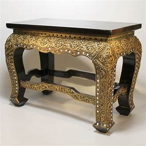 Tisch Holz Massiv : opiumtisch tisch asien orient beistelltisch holz massiv table asien teetisch ebay ~ Indierocktalk.com Haus und Dekorationen