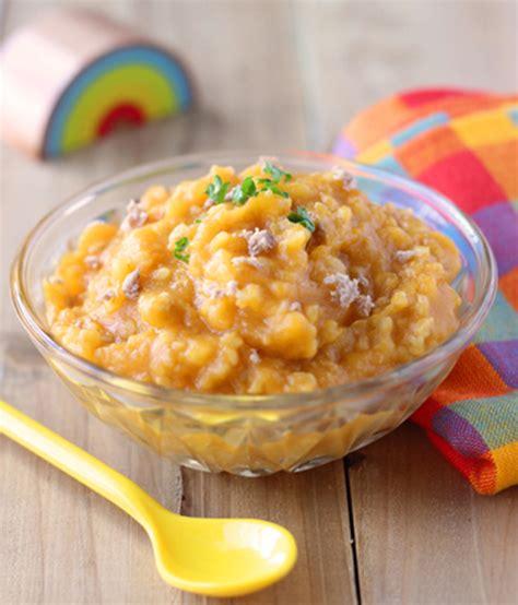 recette petit pot bebe patate douce agneau au boulgour et patate douce 171 cuisine de b 233 b 233