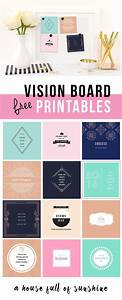 free vision board printables 247moms free printables With vision board templates free