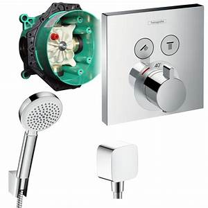Hansgrohe Unterputz Thermostat : hansgrohe shower select unterputz thermostat ~ Watch28wear.com Haus und Dekorationen