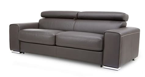 Dfs 3 Seater Sofa Bed by Dfs Kalamos Bournville Contrast Leather 3 Seater Sofa Bed