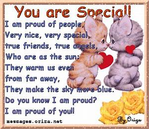 Love Poems, Quotes, Messages: You are very special!