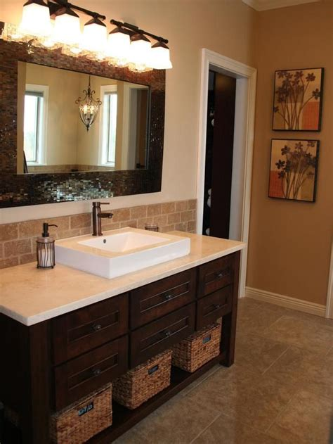 backsplash bathroom ideas 82 best bath backsplash ideas images on pinterest bathroom bathroom furniture and half
