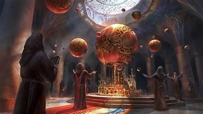 Sorcerer Fantasy Background Wallpapers