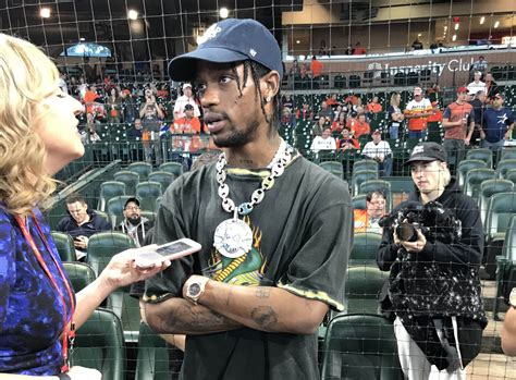 travis scott  astros games supports  texas teams