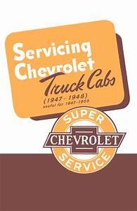 1954 Chevrolet Pickup  U0026 Truck Repair Shop Manual Original