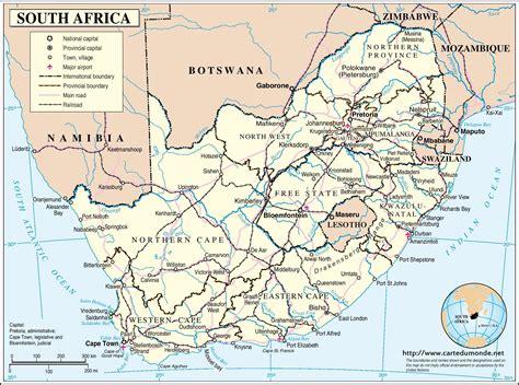 cuisine afrique du sud afrique du sud carte satellite