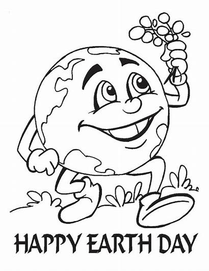 Earth Coloring Pages Kindergarten
