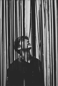 (1) Tumblr Photography, black and white, man, barcode ...