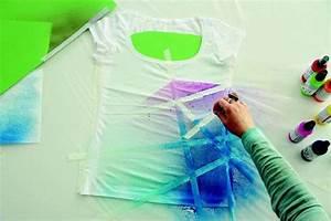 T Shirt Bemalen Schablone : anleitungen bastelideen ~ Frokenaadalensverden.com Haus und Dekorationen