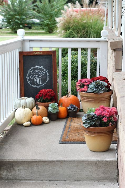 Fall Porch Displays by Prep Your Patio For Fall With These Backyard Tips