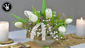 Frühlingsdeko Im Glas : diy fr hlingsdeko selber machen festliche fr hlingstischdeko tulpengesteck mit ~ Orissabook.com Haus und Dekorationen