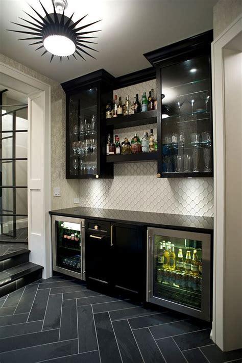 27 Stylish Basement Bar Décor Ideas   DigsDigs