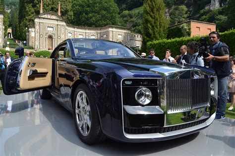 Rolls-royce Sweptail Chính Thức Lộ Diện