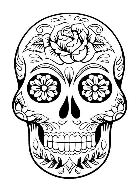 Sugar Skull Tattoo Free Stock Photo Public Domain Pictures