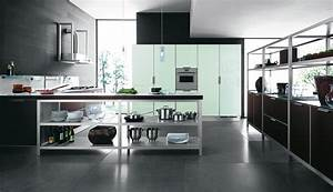 Modern simple kitchen design stylehomesnet for Simple modern kitchen designs