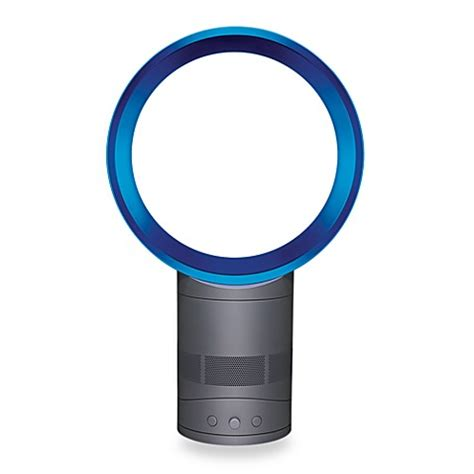 dyson am01 table fan review dyson air multiplier am01 10 inch table fan in blue iron