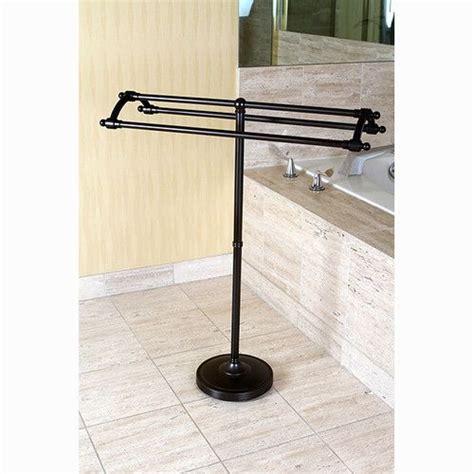 edenscape  standing towel stand towel rack kingston brass  standing towel rack