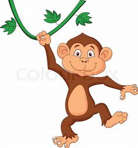 Gallery For > Monkey Swinging Clipart