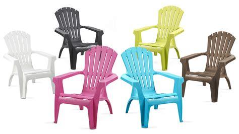 siege de jardin fauteuil de jardin en plastique pas cher