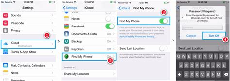 how to remove find my iphone 3 ways to restore iphone without turning of find my iphone