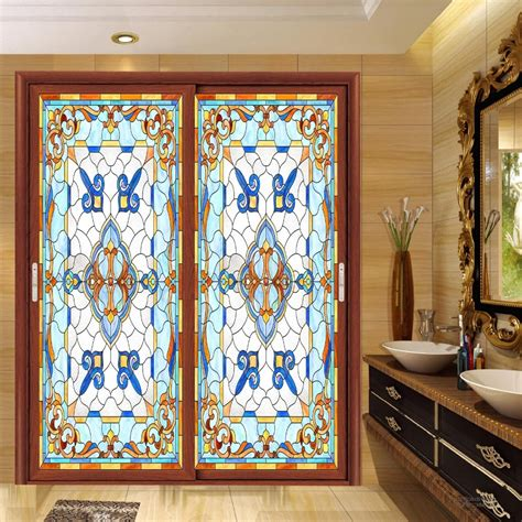 popular stained glass stickers buy cheap stained glass