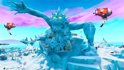 polar peak monster size revealed fortnite season