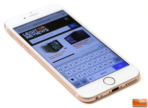 on iphone 6s apple iphone 6s review iphone 6s versus iphone 5 legit