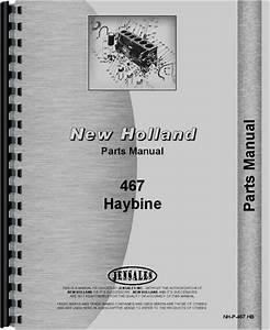 New Holland 467 Haybine Parts Manual