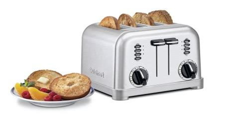 Cuisinart Cpt-180 Metal Classic 4-slice Toaster, Brushed