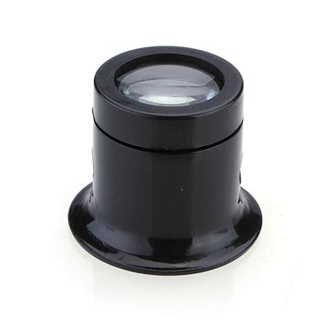 New Loupe Black Eye Loupe 10x Jewelry Tools Loop Magnifier