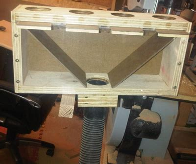 port manifold dust collection woodworking blog