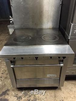 garland french top stove range  oven