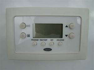 Carrier Programmable Thermostat Tb